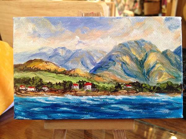 Painting - Evening In West Maui by Darice Machel McGuire