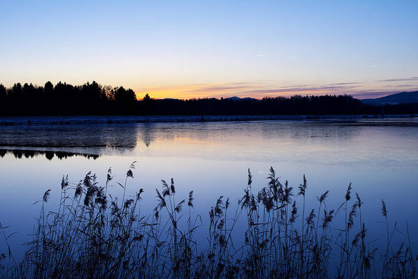 Photograph - Evening Lake by Ivan Slosar