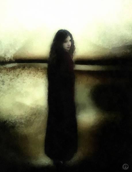 Mood Digital Art - Evening Melancholia by Gun Legler