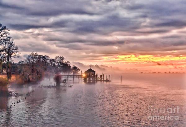 Photograph - Evening Mist by Mike Covington