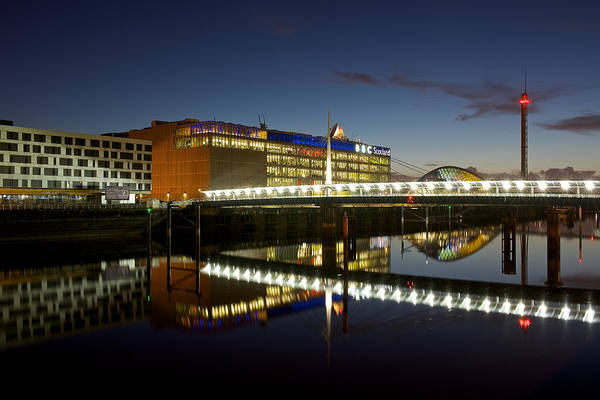 Photograph - Evening On The Clyde by Stephen Taylor