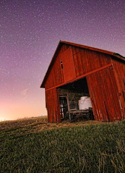 Wall Art - Photograph - Evening On The Farm by Dan Sproul