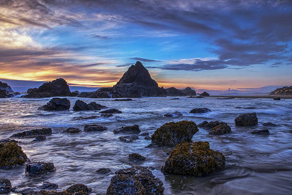 Wall Art - Photograph - Evening Over The Coast by Andrew Soundarajan