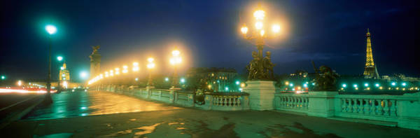 Leisurely Photograph - Evening Paris France by Panoramic Images