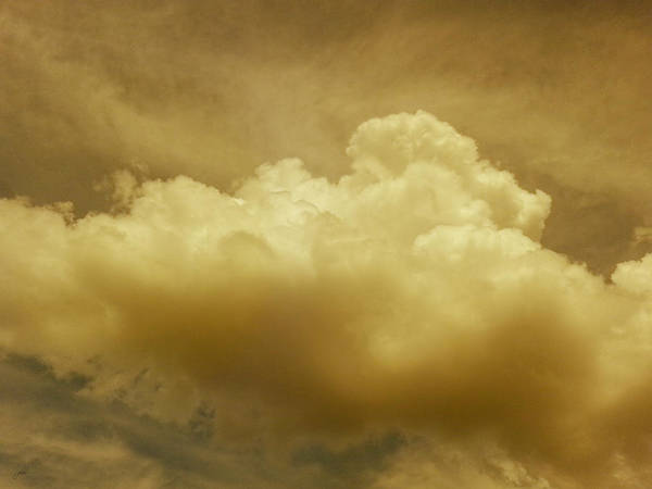 Photograph - Evening Rain Cloud by Paulette B Wright