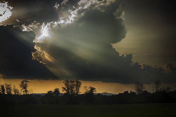 Photograph - Evening Rays by Ben Shields