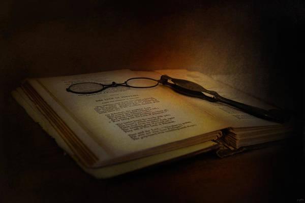 Photograph - Evening Reading by Jai Johnson