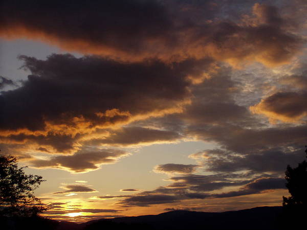 Photograph - Evening Sky by Phil Darby