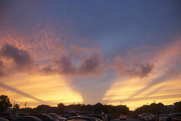 Photograph - Evening Sky by Ralph Jones