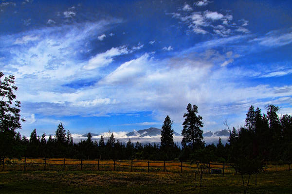 Photograph - Evening Sky by Ron Roberts