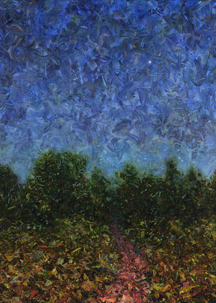 Wall Art - Painting - Evening Star by James W Johnson