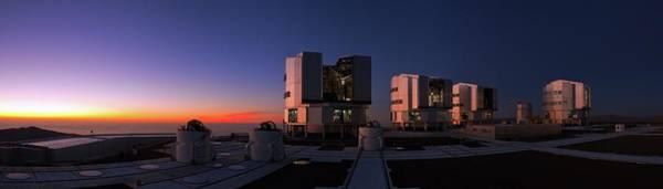 Astronomical Twilight Photograph - Evening Twilight Over The Atacama Desert by Babak Tafreshi