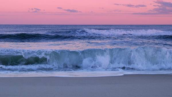 Wall Art - Photograph - Evening Waves - Jersey Shore by Angie Tirado