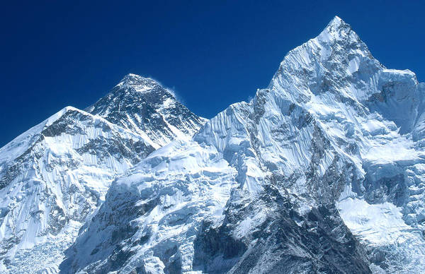 Wall Art - Photograph - Everest And Nuptse by Alison Wright