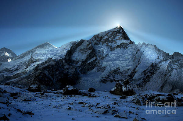 Nepal Photograph - Everest Sunrise by Colin Woods