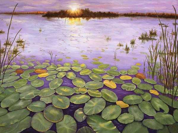 Painting - Everglades Evening by Karen Zuk Rosenblatt