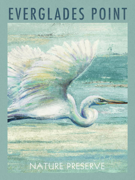 Everglades Painting - Everglades Poster I by Patricia Pinto