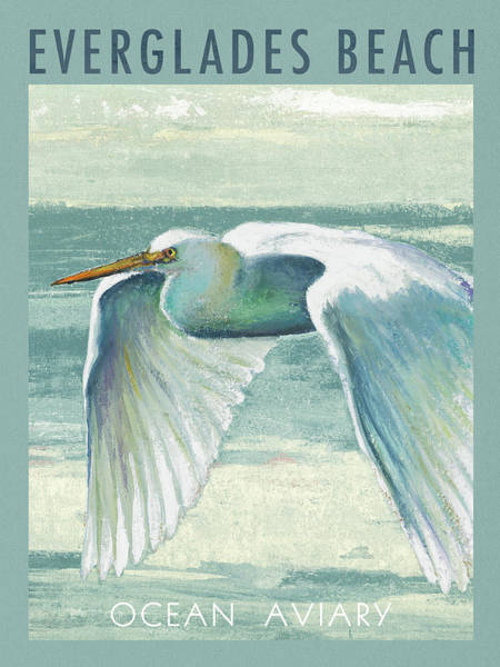 Everglades Painting - Everglades Poster II by Patricia Pinto