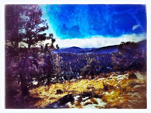 Digital Art - Evergreen Colorado by Dan Miller