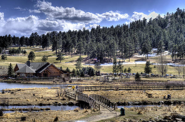 Evergreen Colorado Lakehouse Art Print