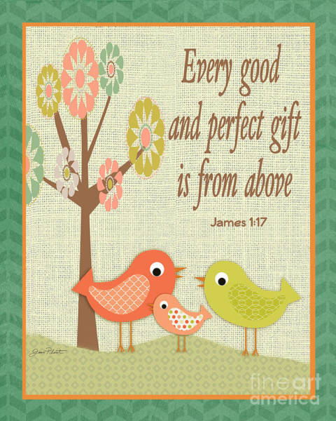 Wall Art - Digital Art - Every Good Gift by Jean Plout