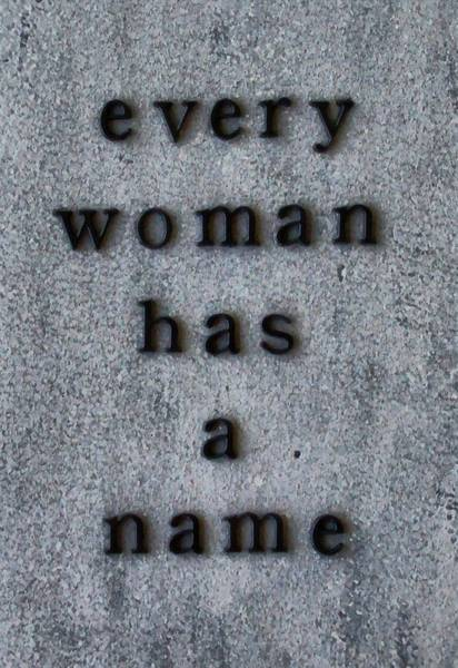 Wall Art - Mixed Media - Every Woman Has A Name Excerpt by Angelina Tamez