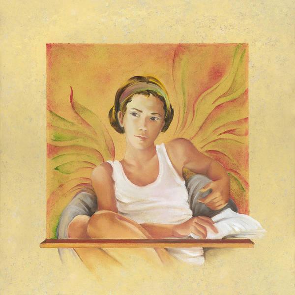 Painting - Everyday Angel by Anna Ewa Miarczynska