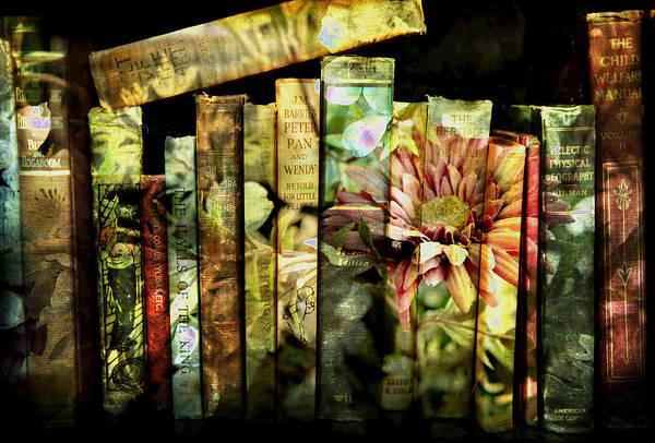 Evie's Book Garden Art Print