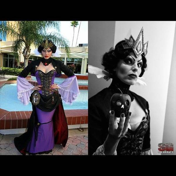 Steampunk Wall Art - Photograph - Evil Queen Yet Again Another Great by Sid Graves