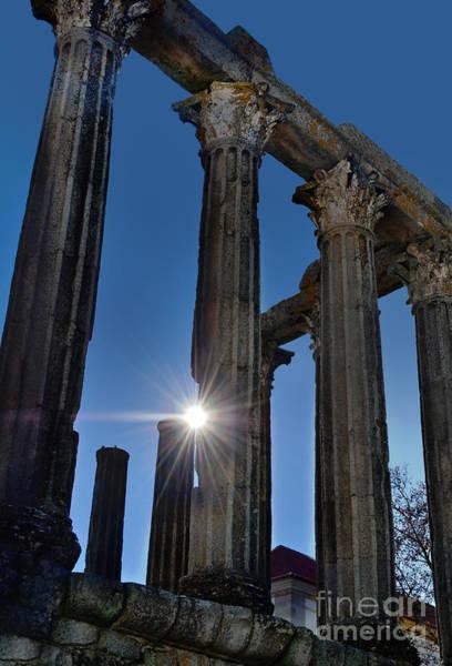 Photograph - Evora - Portugal - Diana's Roman Temple by Carlos Alkmin