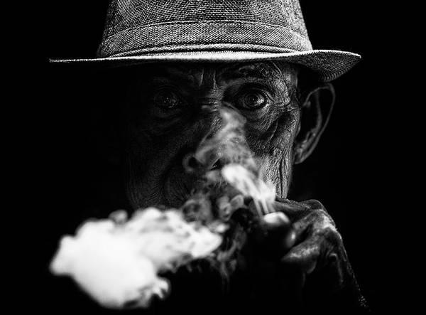 Smoke Wall Art - Photograph - Ex Mafioso by Andi Halil