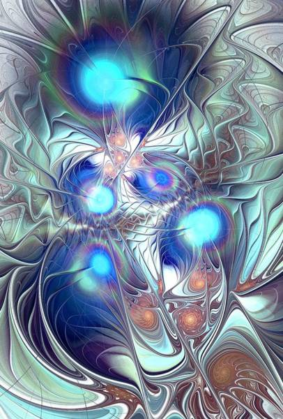 Digital Art - Excalibur by Anastasiya Malakhova