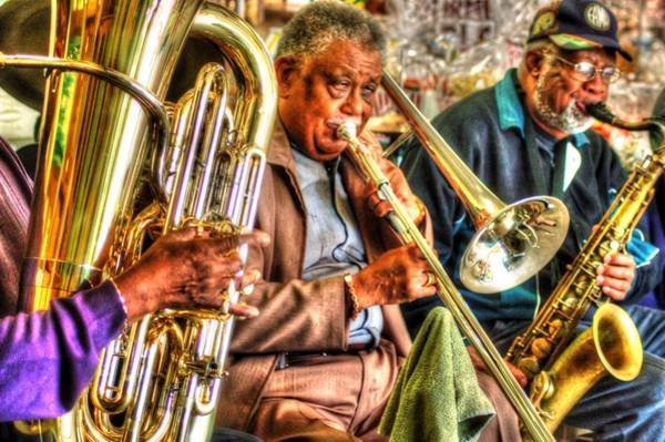 Digital Art - Excelsior Band 3 Piece by Michael Thomas