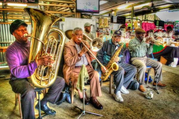Digital Art - Excelsior Band 5 Piece by Michael Thomas