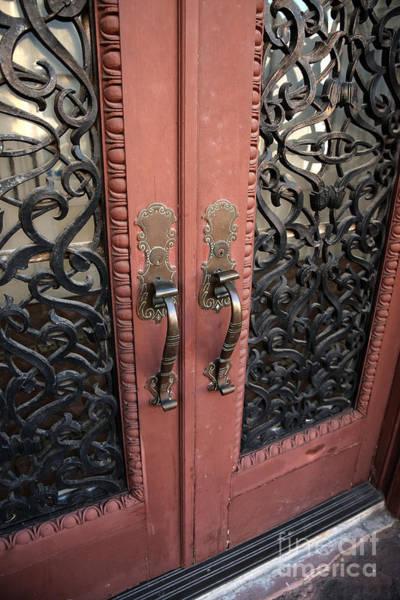 Photograph - Exchange Door by John Rizzuto