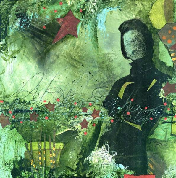 Acrylic Mixed Media - Excited One  by Laura  Lein-Svencner