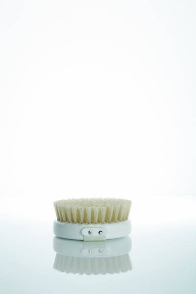Scrub Photograph - Exfoliating Body Brush by Kate Jacobs/science Photo Library