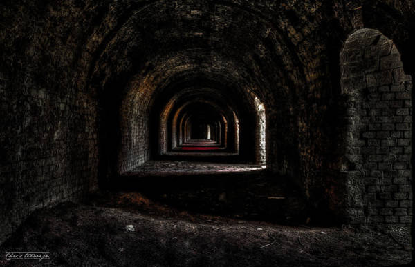 Holland Tunnel Wall Art - Photograph - Exhaust System Of The Abandoned Stone Factory by Chris Terwijn