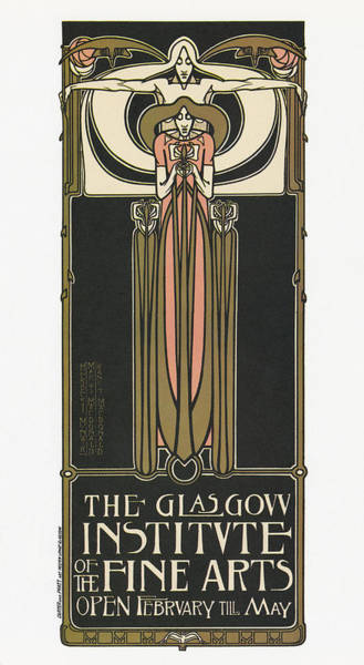 Drawing - Exhibition Poster, 1890s by Granger