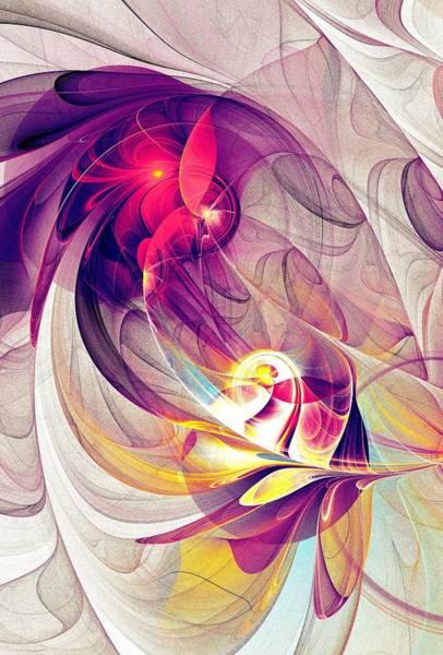 Digital Art - Exhilarated by Anastasiya Malakhova