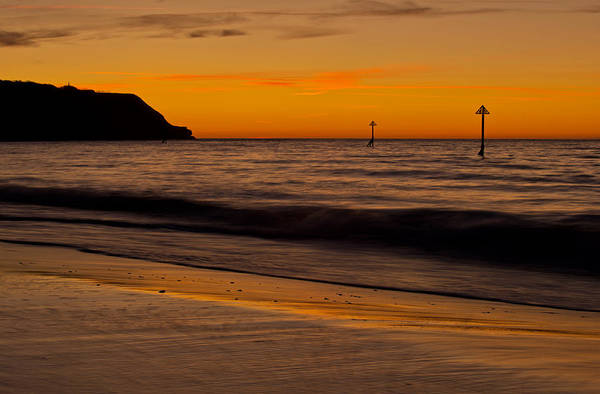 Photograph - Exmouth Sunrise - Devon by Pete Hemington