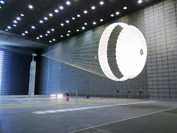 Demonstrators Photograph - Exomars Schiaparelli Parachute Testing by Us Air Force