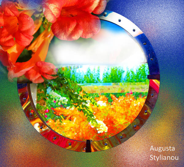 Photograph - Exotic Landscape In Reflection by Augusta Stylianou