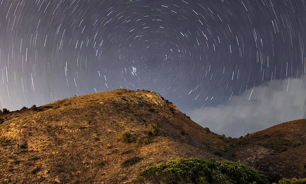 Photograph - Experiment With Stars by Pedro Fernandez