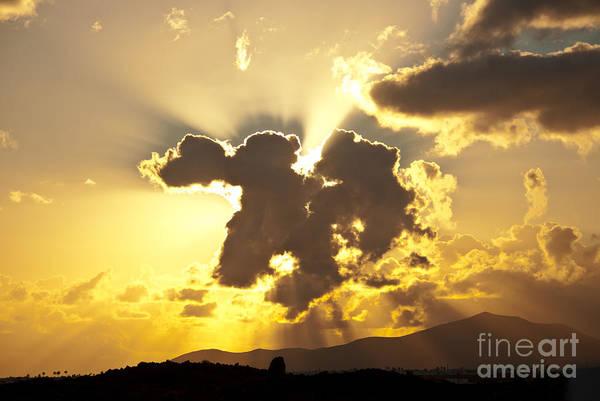 Photograph - Exploding Cloud by James Lavott
