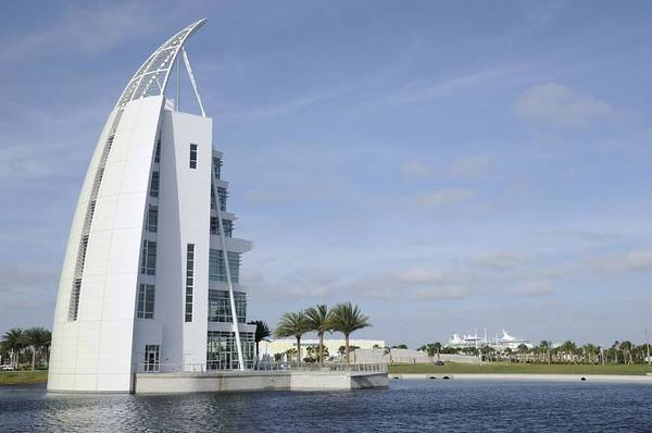 Photograph - Exploration Tower-port Canaveral by Bradford Martin