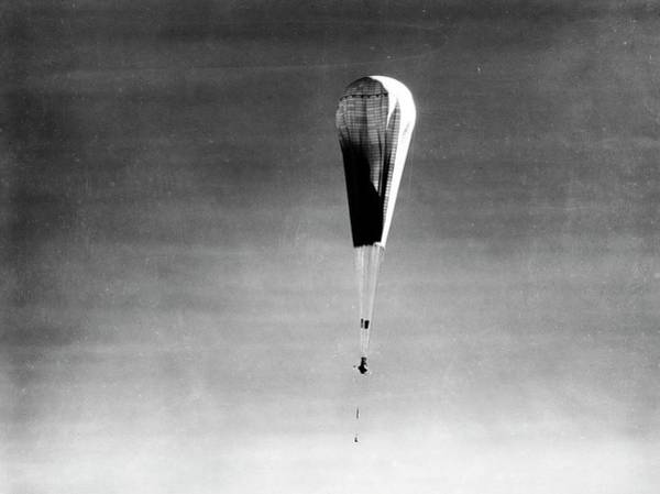 Wall Art - Photograph - Explorer II High-altitude Balloon by American Philosophical Society