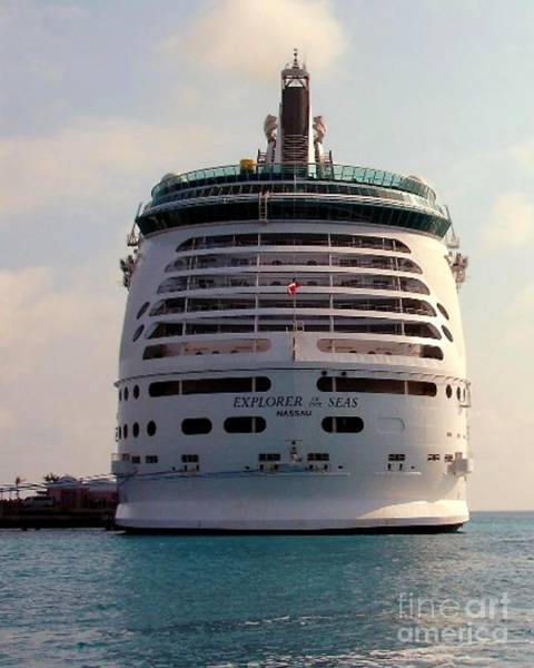 Photograph - Explorer Of The Seas by Donna Cavanaugh
