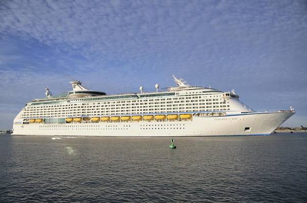 Photograph - Explorer Of The Seas Embarks by Bradford Martin