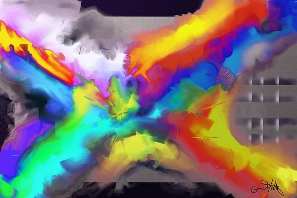 Painting - Explosion by Eugene Foltuz
